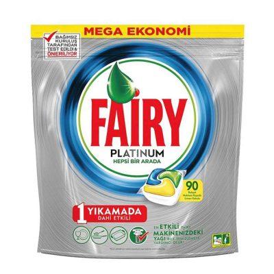 قرص ماشین ظرفشویی فیری پلاتینیوم Fairy Platinum بسته 90 عددی
