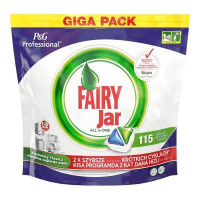 قرص ماشین ظرفشویی فیری جار Fairy Jar بسته 115 عددی