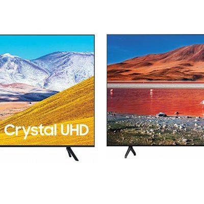 مقایسه تلویزیون های TU7000 و TU8000 سامسونگ